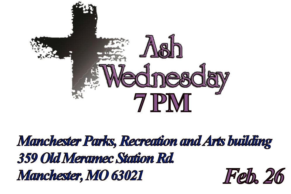 Ash Wednesday Service - 7PM
